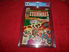 ETERNALS #2 CGC 9.2  MOVIE COMING CELESTIALS (WHITE PAGES)