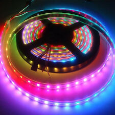 5M 5050 SMD RGB Flexible Strip LED Light Muti color 12V 300 led Lamp Waterproof
