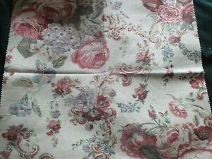 Vintage Laura Ashley Fabric - Victoria  48cm x 46cm Patchwork/Cushion