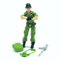 GI Joe action figure complete toy hasbro cobra vtg 1985 Lady Jaye Jay covert