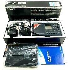 Sony ICF-SW7600 Shortwave AM FM World Radio Boxed UK Fast Post