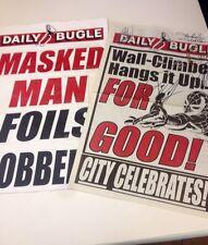 Spider Man Prop Newspapers