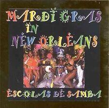 Mardi Gras in New Orleans [Fine Tune] by Escolas De Samba (CD, Jan-1999, 2