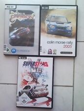 Superstars V8 Racing + Colin McRae Rally 2005 + NEED FOR SPEED CARBON Sammlung