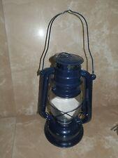 Riproduzione lume a petrolio da minatore con serbatoio e vetro FUNZIONANTE