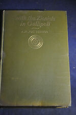 1916 *RARE* With the Zionists in Gallipoli