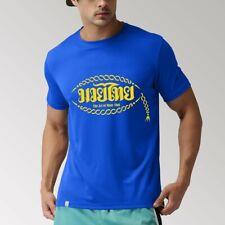 Rendimiento Camiseta Muay Thai Talla S M L-Entrenamiento Deporte Gimnasio De Entrenamiento