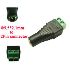 10pcs / lot DC5.5*2.1 female to terminal block DC socket connector Power adapter