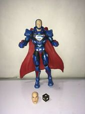 DC Multiverse Rebirth   Lex Luthor Figure C&C w  mother box & extra head  new