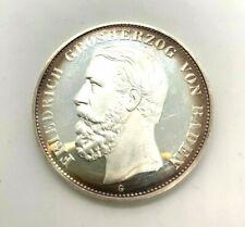 5 Mark 1875 Friedrich Grosherzog Von Baden G Silber 2001