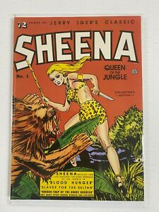 Sheena Queen of the Jungle Blackthorne SC 6.0 FN (1985)