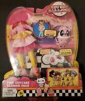 Kuu Kuu Harajuku Pink Cupcake Fashion Pack KAWAII Fashion For HJ5 NEW