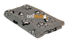 Tapis Confortbed Vetbed Dry Extra  motif Modern pattes,26 mm gris 75x100 cm