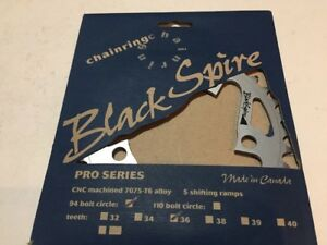 NOS Blackspire Pro Chainring 36T 94 BCD 7075-T6 Made in Canada