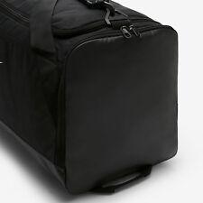 0c4688d5a Nike bolsa de deportes Brasilia Medium Muletón negro blanco