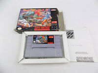 Boxed SNES Super Nintendo  Street Fighter 2 II - NTSC USA Version - Free Postage