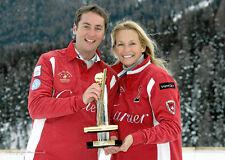 Polo Shirt CARTIER  World Cup on Snow  Jan. 2010 St Moritz Switzerland  XXL NEW*