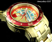 NEW Invicta Men's 48mm AVANGERS IRONMAN SCUBA PRODIVER Stainless Steel LE Watch