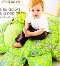 PATTERN - Little Daisy's Big Nap Pillow - fun cushion PATTERN - Amy Butler
