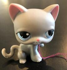 Littlest Pet Shop LPS Grey Cat #74