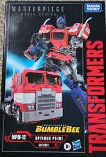 TAKARA  TOMY Optimus Prime - MASTERPIECE MOVIE SERIES - BUMBLEBEE NIB EXCLUSIVE