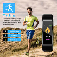 Sport Waterproof Fitness Smart Watch Activity Tracker For Samsung iPhone Huawei