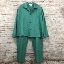 Westex Welding Pants Shirt Suit 2 Piece Flame Resistant Tillman Xl Green