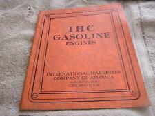 IHC Gasoline Engines International Harvester