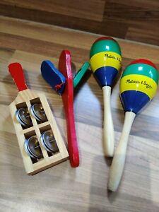 Melissa & Doug wooden children instruments