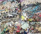 Bulk 13 lb Jewelry Craft Repurpose Lot! Broken & Wearable Parts Scrap #15