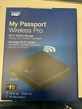 BRAND NEW - WD 1TB My Passport Wireless Pro Portable External Hard Drive!