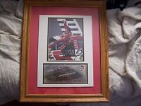 Dale Earnhardt Jr matted and framed Daytona 500 picture