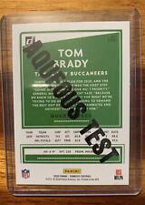 Tom Brady 2020 Donruss Football Sp Aqueous Test Bucs #230.