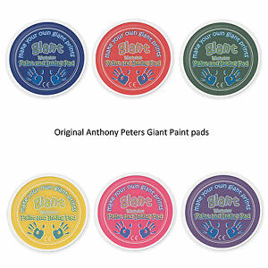 Giant Paint Pads Choose Colours The ORIGINAL Giant Paint Pads by Anthony Peters!