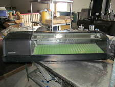 Refrigerated Sushi Pastry Bakery Counter Top Display Case