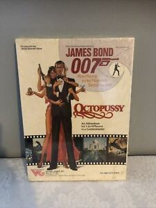 """""""OCTOPUSSY"""" JAMES BOND 007 Role Playing Game 1983 Victory Games 35004"""