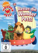 WONDER PETS: RETTET DIE WONDER PETS   DVD NEU
