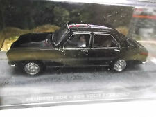 PEUGEOT 504 BLACK FOR YOUR EYES ONLY James Bond 007 TV Movie Ixo Altaya SP 1:43