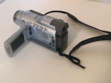 Samsung Digital Video Camera Scd23 MiniDv Camcorder ~Cant Test ~For Parts/Repair