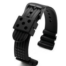 22mm/20mm Silicone Watch Strap Soft Replacement Bands Belt for Water Ghost