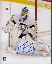 Marc-Andre Fleury Penguins Signed 8x10 Photo Autograph Auto Frozen Pond