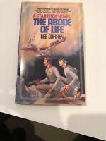 Star Trek Novel: The Abode Of Life #6 By Lee Correy 1982 Paperback