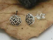 Nodi celtici circa 925 argento orecchini a bottone 2 pezzi Orecchini Celti
