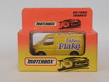 MATCHBOX 1/64  MB60 FORD TRANSIT VAN  CADBURY'S FLAKE