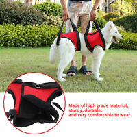 Front/Rear Dog Support Harness Walking Aid Lifting Vest for Old Injured Dogs WD