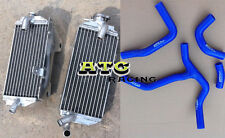 Aluminum Radiator + Silicone Hose for Honda CRF450R CRF 450 R 2013 2014 13 14