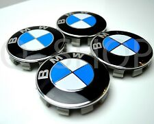68mm alloy wheel centre caps 1 set (4pcs) pour E34 E36 E46 E90 bmw 1 3 5 série 7