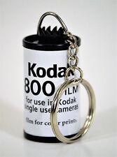 KODAK KEYCHAIN MADE FROM RECYCLED 35 MM FILM CANISTERS, KODAK 800 FILM