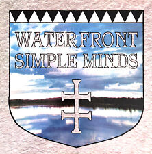 """Simple Minds 12"""" Waterfront - France (VG+/EX)"""