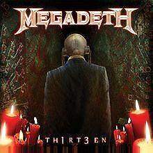 Th1rt3en (2019 Reissue) von Megadeth   CD   Zustand sehr gut
